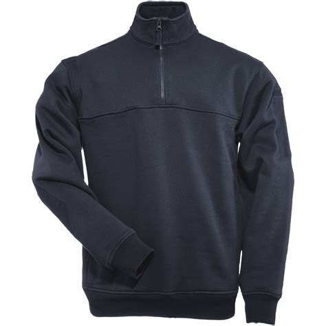 Sweater Hoodie Jumperzipper Marine 5 11 1 4 zip army shirt mens patrol sweater marine fleece navy ebay