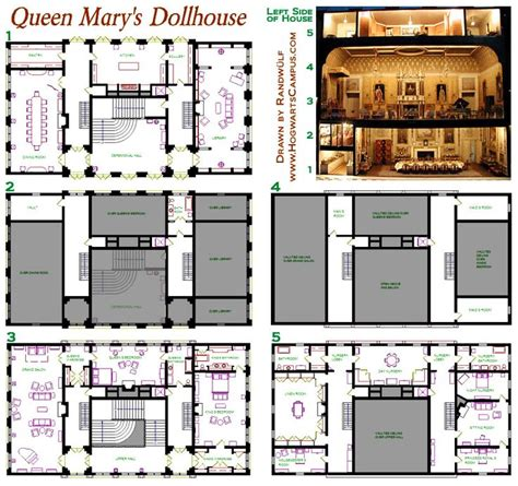 dollhouse blueprints woodworking projects plans