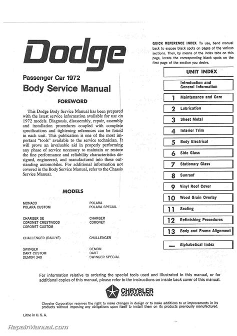 small engine service manuals 2012 dodge challenger electronic toll collection 1972 dodge charger parts catalog imageresizertool com