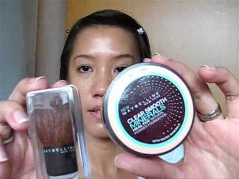 Bedak Maybelline Mineral maybelline clear smooth mineral healthy powder