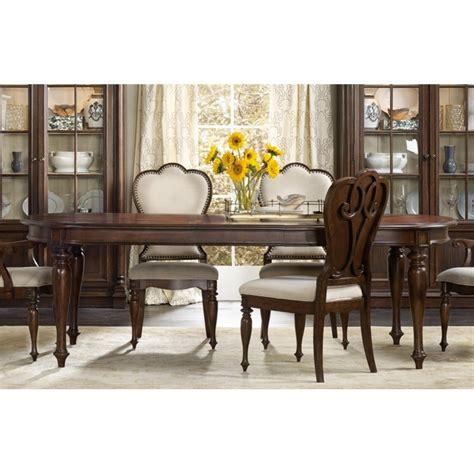 hooker furniture dining room leesburg leg table with two hooker furniture leesburg extendable dining table in