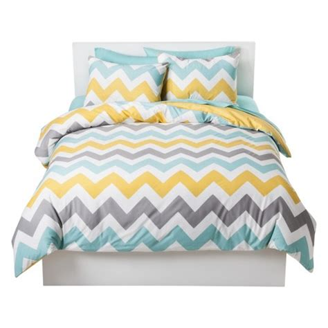 yellow and white chevron comforter room essentials chevron duvet cover set target