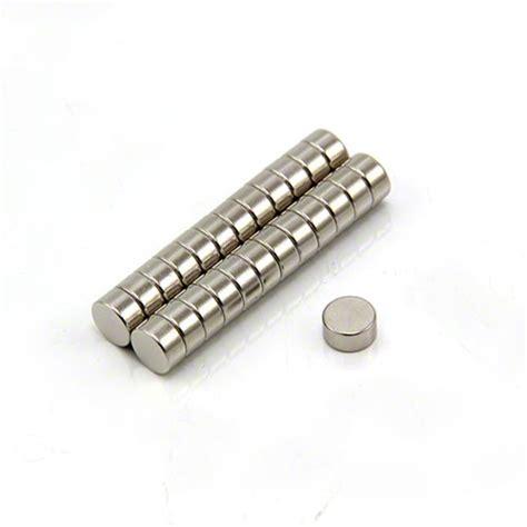 Magnet Neodymium Diameter 1 2cm Ketebalan 2mm 6mm dia x 3mm thick n42 neodymium magnet 0 9kg pull
