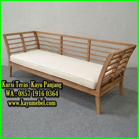 Kursi Ayunan Jatishofa Kursi Makan Tamu Teras Rak Bufet Lemari kursi panjang dari kayu kursi kayu panjang harga kursi panjang