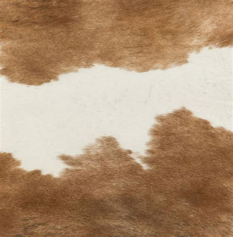 Brown Hide Rug Light Brown White Hair On Hide Rug Kathy Kuo Home