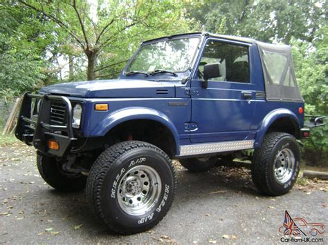 samurai jeep for sale pin 1988 suzuki samurai 19 turbo diesel jeep for sale on