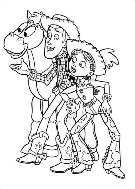 toys coloring pages preschool toy story woody and jessie the ultimate coloring book