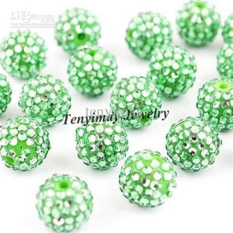 shamballa wholesale usa resin shamballa 10mm shamballa jewelry mixed colors
