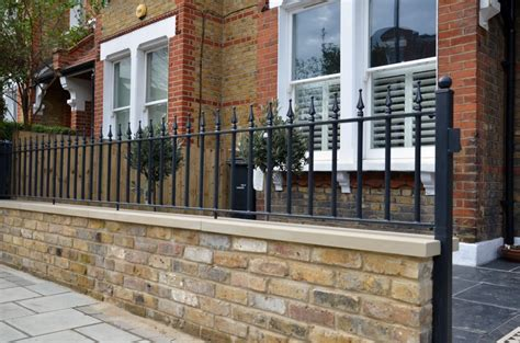 London Garden Design Garden Design Garden Wall Railings
