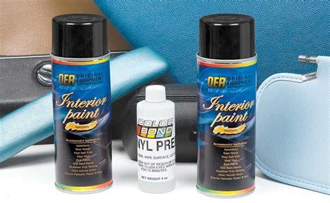 Mopar Interior Paint by Mopar Parts Paint And Chemicals Interior Paints