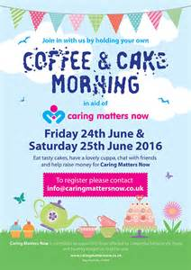 cmn charity coffee morning 2016 caring matters now