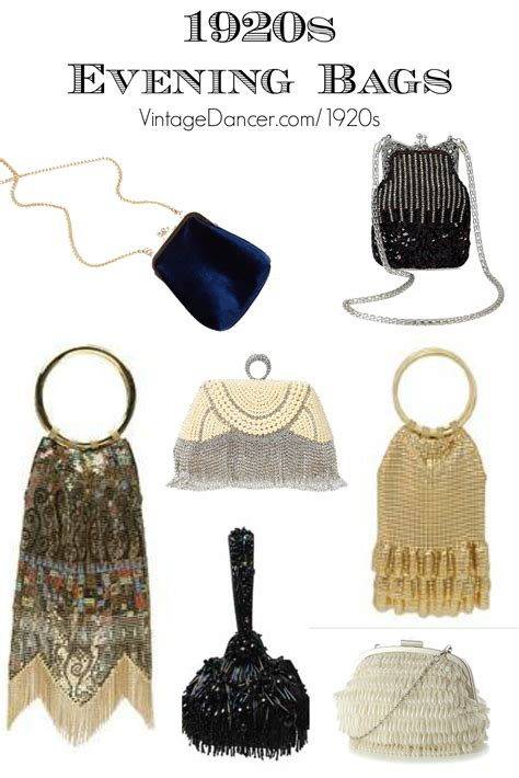 1920s Style Purses and Beaded Flapper Bags