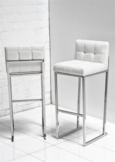 expensive contemporary bar stools white croc bar stool