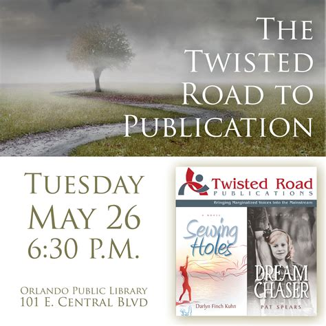 the twisted road to publication darlyn finch kuhn