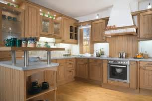 Wooden Kitchen Designs Light Wood Kitchen Design Stylehomes Net