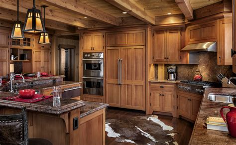 kitchen rustic kitchen other metro by peace design alpine ski home rustic kitchen other metro by