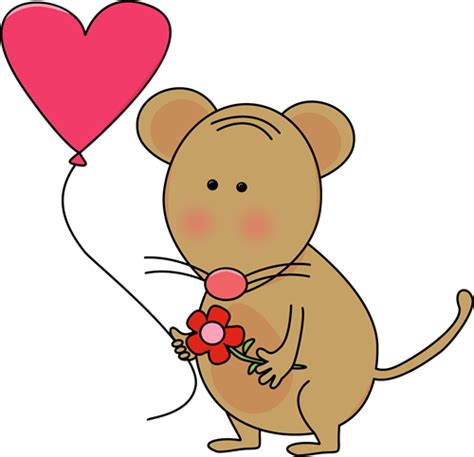 cutest valentines s day mouse clip s day