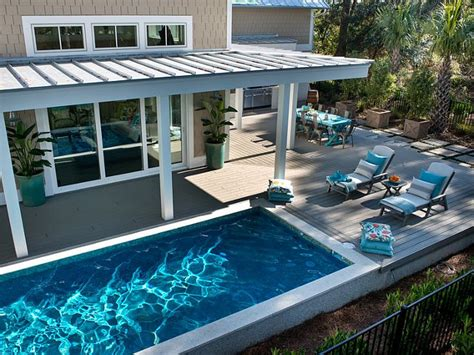 backyard pool deck ideas transitional beach house home bunch interior design ideas