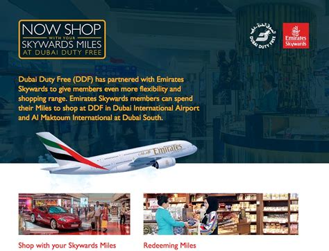 emirates miles redeem new shopping perks for emirates flyers with ddf travel