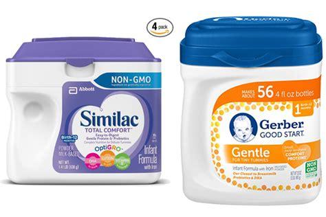 good start comfort similac total comfort vs gerber good start gentle