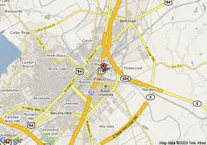 waco maps map of hotel waco waco