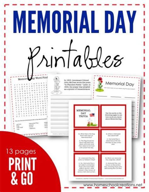 free memorial day printables free homeschool deals