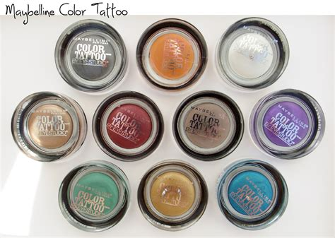 eu acredito em cosm 233 ticos a maravilhosa lojinha das fall 2013 maybelline color tattoos new limited edition