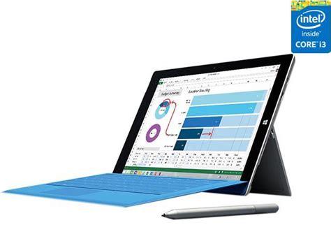Microsoft Surface Pro 3 I3 microsoft surface pro 3 intel i3 cpu 4gb ram 64gb