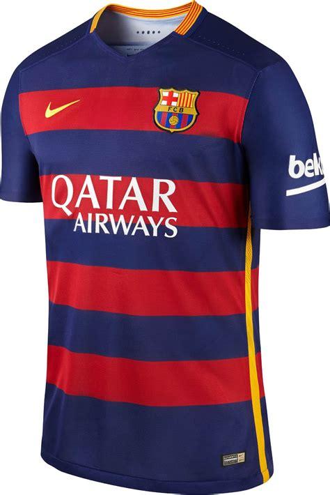barcelona home kit revolutionary fc barcelona 15 16 kits released footy