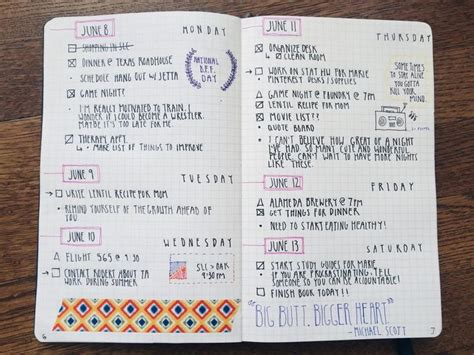 design journal week die 81 besten bilder zu bullet journal auf pinterest