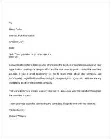 rejection letter for applicant writefiction581