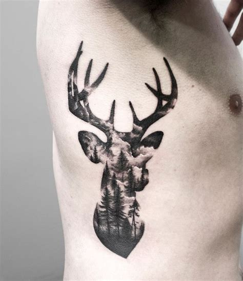 double h tattoo exposure stag tattoos inspiration