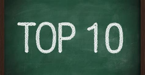 top ten my one and only top ten list huffpost
