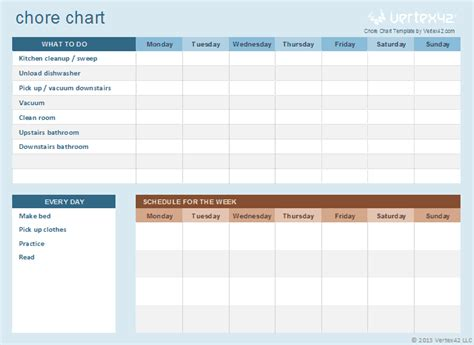 Chore Sheet Template by Monthly Calendar Template Microsoft Word Calendar