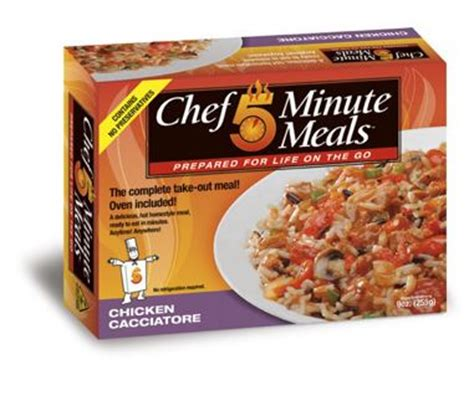 Shelf Of Mre Meals by Mre Chicken Cacciatore Self Heating Shelf Stable Chef 5