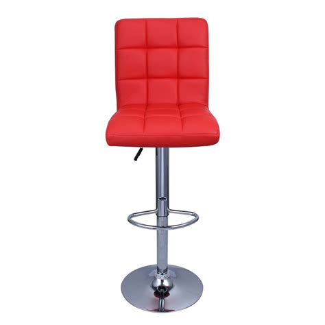 Hydraulic Bar Stools Set Of 2 Bar Stools Leather Modern Hydraulic Swivel