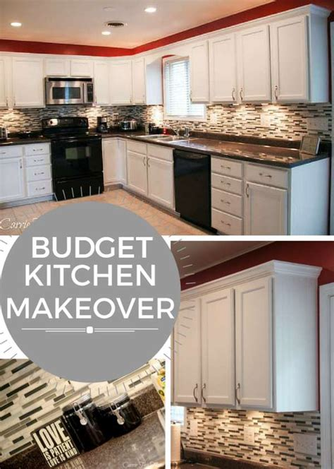 kitchen makeover ideas on a budget budget kitchen makeover