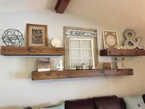 How To Decorate Living Room Wall Shelves Floating Shelves Shanty 2 Chic