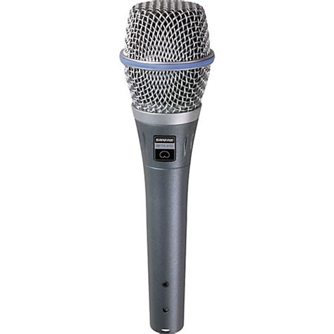 capacitor microphone shure beta 87c cardioid condenser microphone musician s friend