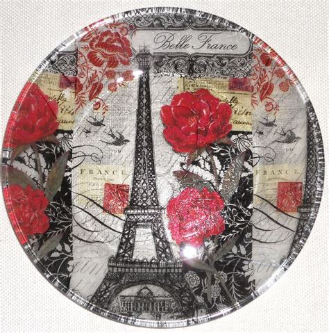 Clear Glass Plates For Decoupage - 17 best ideas about decoupage glass on