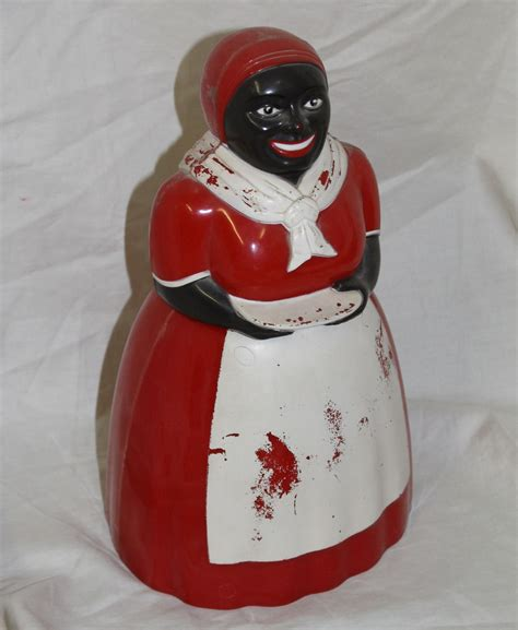 kitchen collectibles bargain s antiques 187 archive jemima cookie jar mammy made by f f bargain