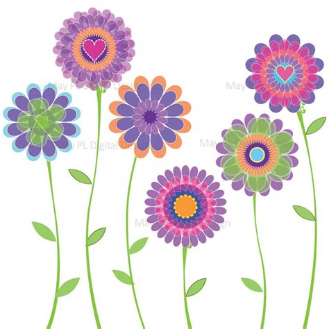 printable spring flowers pictures spring free printable clipart