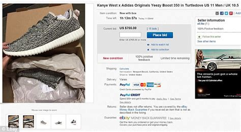 Adidas Yessy Boost Black kanye west s sold out yeezy boost 350 sneakers on ebay at