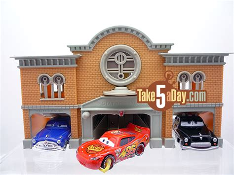 Disney Cars Garage by Disney Pixar Cars Disney Store Courthouse Rc Take Five