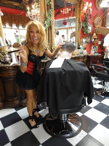 female barbershop haircut all female barber shops short hairstyle 2013