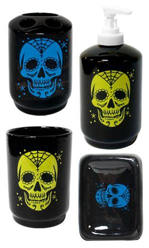 day of the dead bathroom set 1000 images about home deco wish list on pinterest
