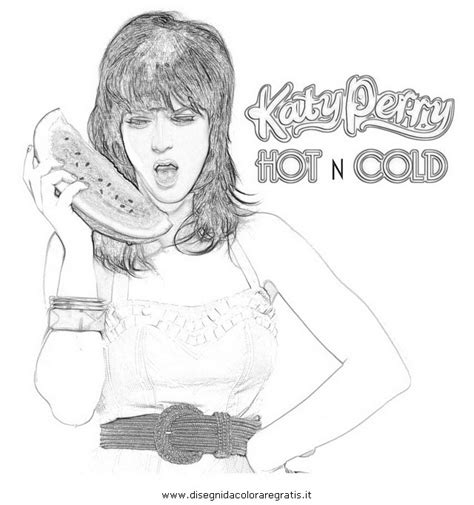 Katy Perry Roar Coloring Pages