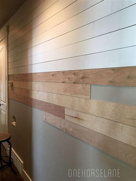 Shiplap Wall Hanging Diy Shiplap Wall Easy Cheap And Beautiful Part 1