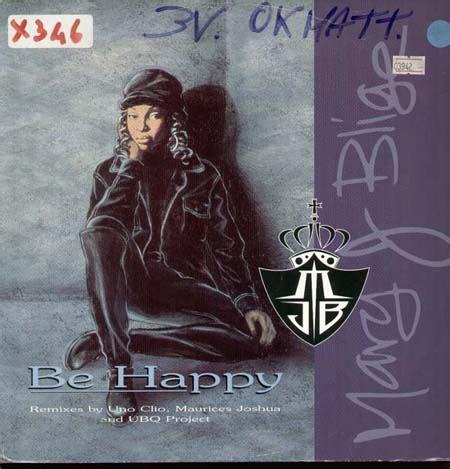 mary j be happy mary j blige be happy mca vinyl 12 inch mcst 2033