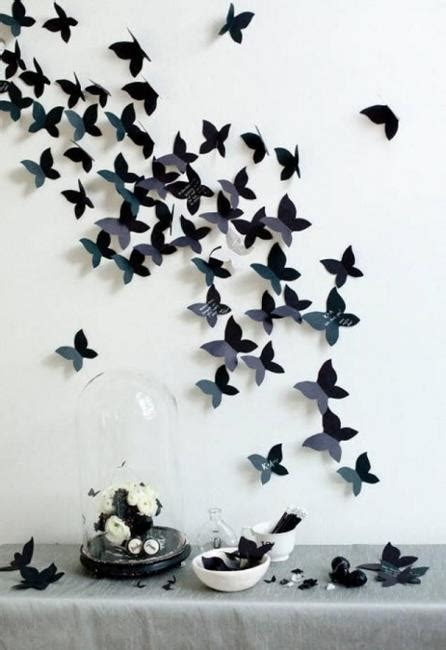 handmade butterflies decorations  walls paper craft ideas